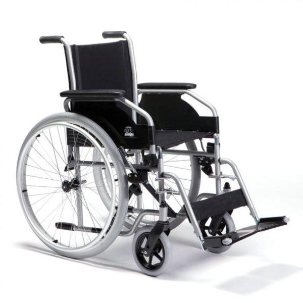 Кресло-коляска складная с ручным приводом Vermeiren 708d