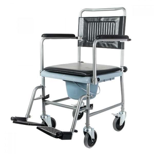 Инвалидная кресло-каталка с туалетным устройством Barry W2 (5019w2p)