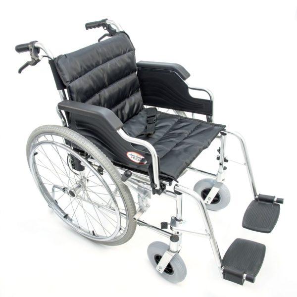Инвалидная кресло-коляска алюминиевая Мега-Оптим Fs 908 Lj