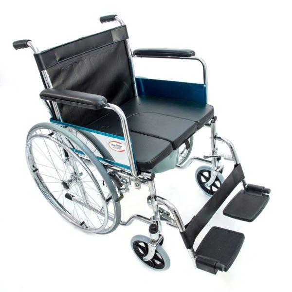 Инвалидное кресло-коляска с санитарным устройством Мега-Оптим Fs 681-45