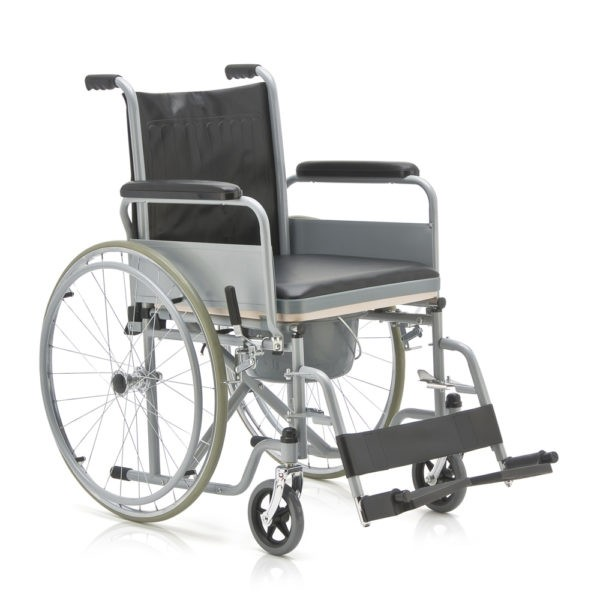 Кресло-коляска для инвалидов с санитарным оснащением Armed Fs682