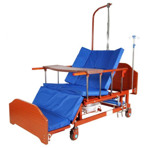 Кровать механическая с боковым переворачиванием Мед-Мос Е-45а (Мм-152н)
