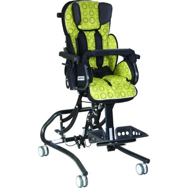 Кресло коляска для детей инвалидов Patron Froggo на домашней раме хай лоу Denver Frg101