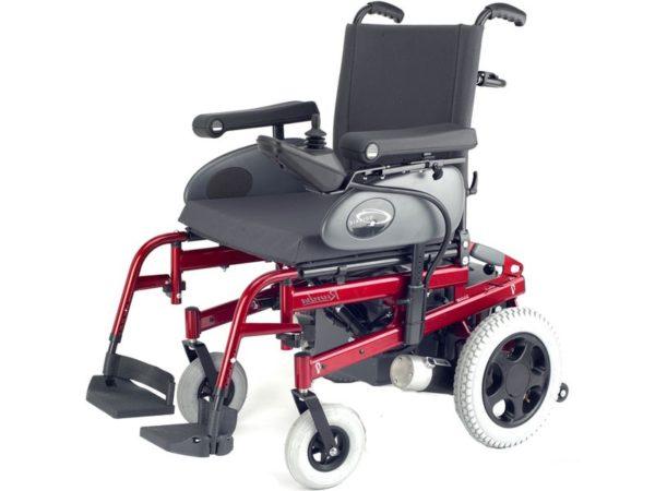 Кресло-коляска инвалидная с электроприводом (электрическая) Rumba, ширина сиденья 40-46 см, грузоподъемность 125 кг LY-EB103 (103-033046)