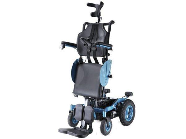 Кресло-коляска инвалидная электрическая с вертикализатором Angel LY-EB103 (103-240)