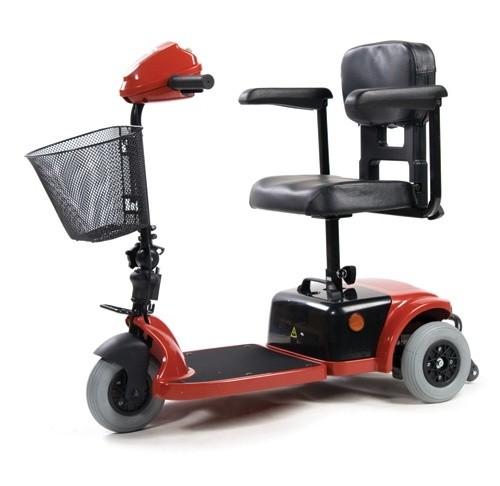 Кресло-коляска инвалидная с электроприводом (электрическая) скутер трехколесный LY-EB103 (103-125)